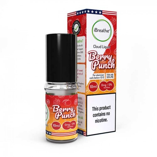 Berry Punch 10ML - 70VG / 30PG - Cloud eLiquid