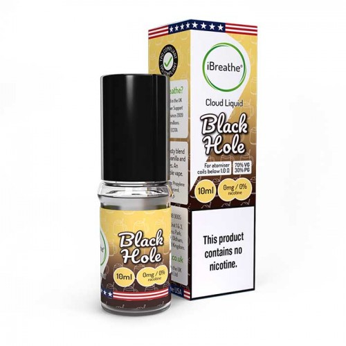 Black Hole - 10ml 70PG/ 30VG Cloud eLiquid