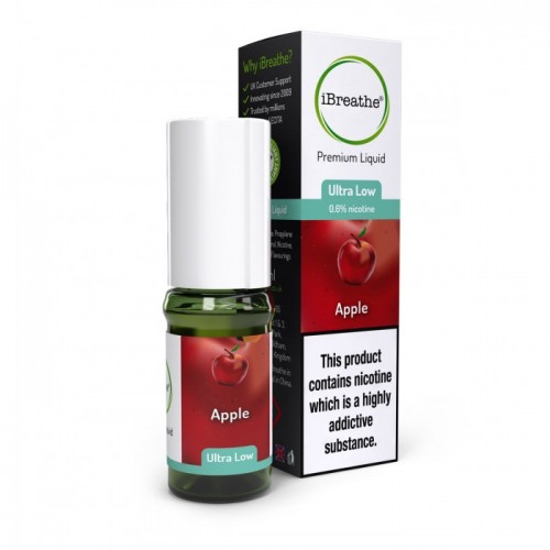 Apple - 10ml High PG Premium eLiquid