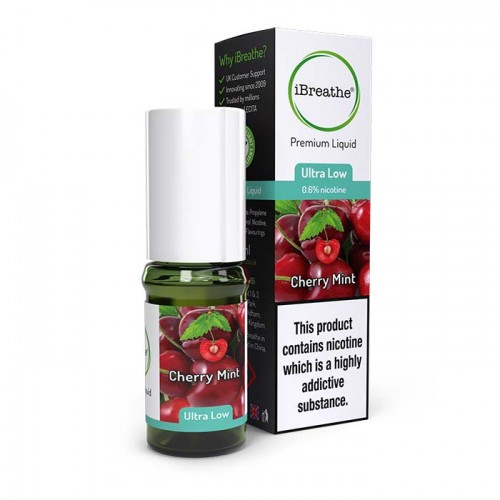 Cherry Mint - 10ml High PG Premium eLiquid