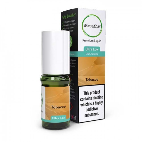 Tobacco - 10ml High PG Premium eLiquid